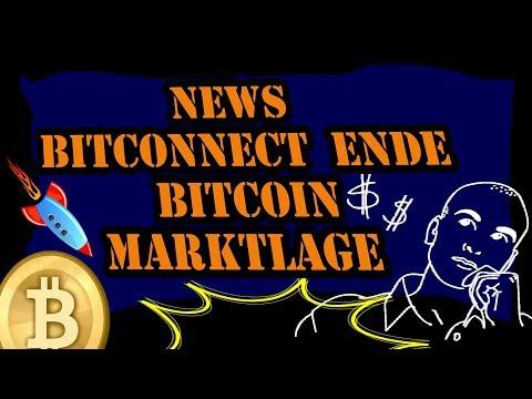 News Bitconnect Ende, Bitcoin Marktlage - Kryptowährung Deutsch / Ripple