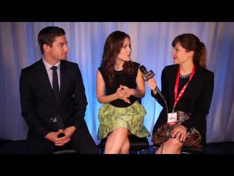 KATIE CHATS: CBC, ERIN KRAKOW & DANIEL LISSING, WHEN CALLS THE HEART