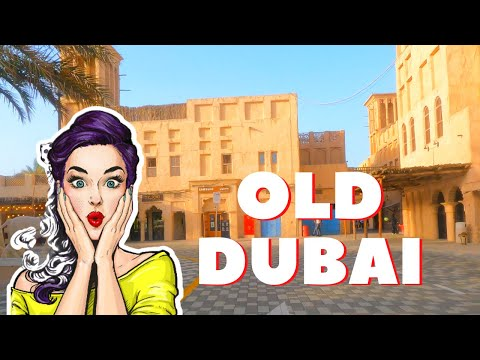 Old Dubai Creek 4k Driving Video 2021