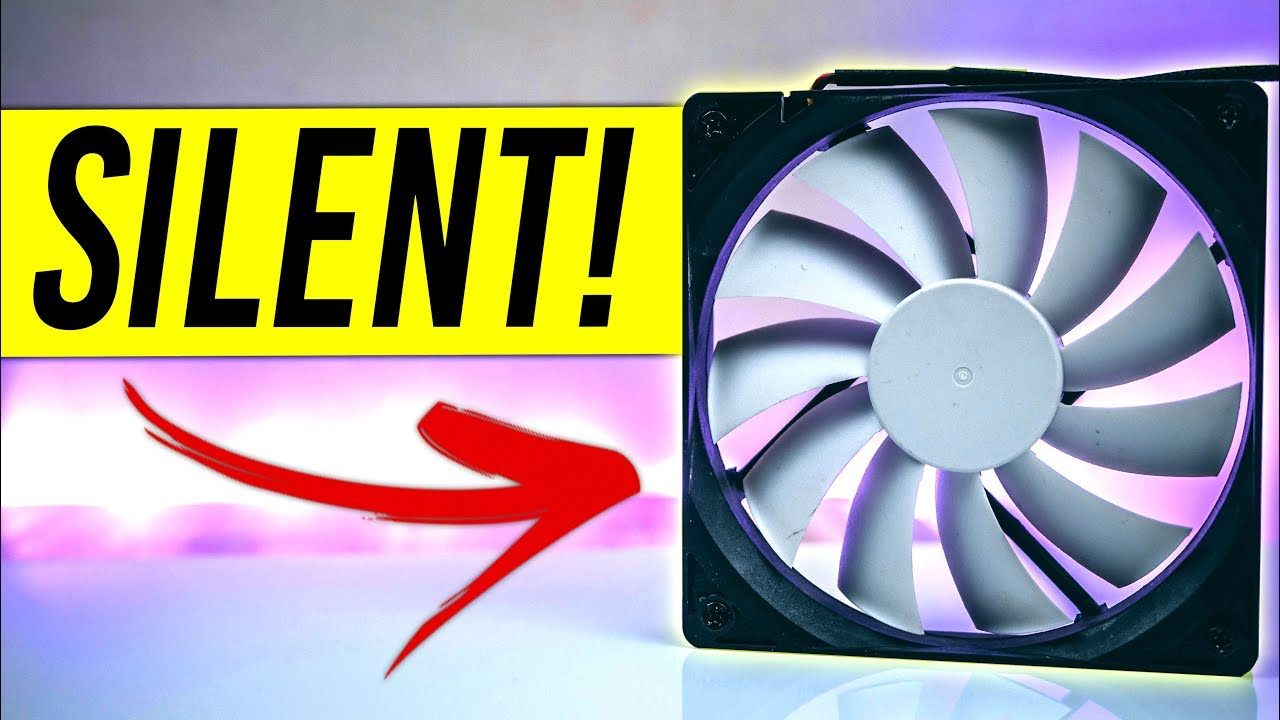 Gaming Pc How To Make Your Fan Silent