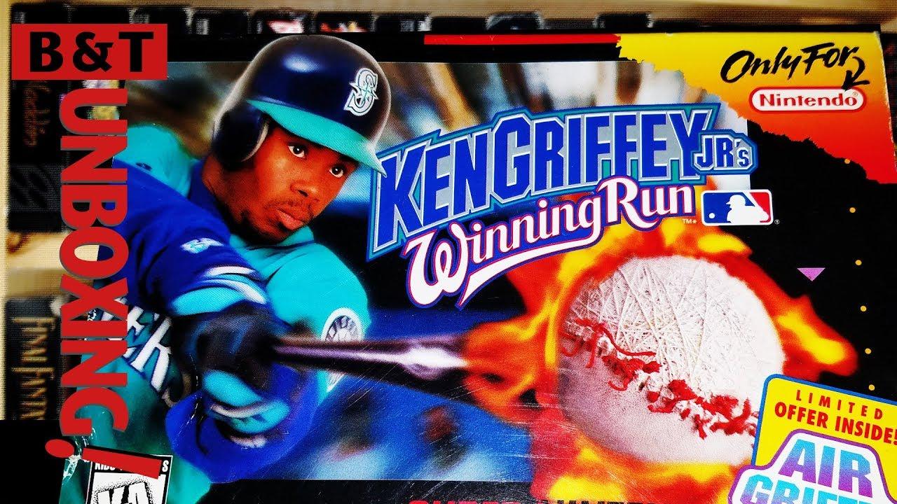 1e8d5063a4 If the Braves Can't Do it Ken Griffey Jr Can! Unboxing Winning Run ...