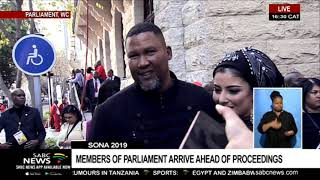 SONA 2019 Red Carpet: MPs arrive ahead of proceedings Part 2