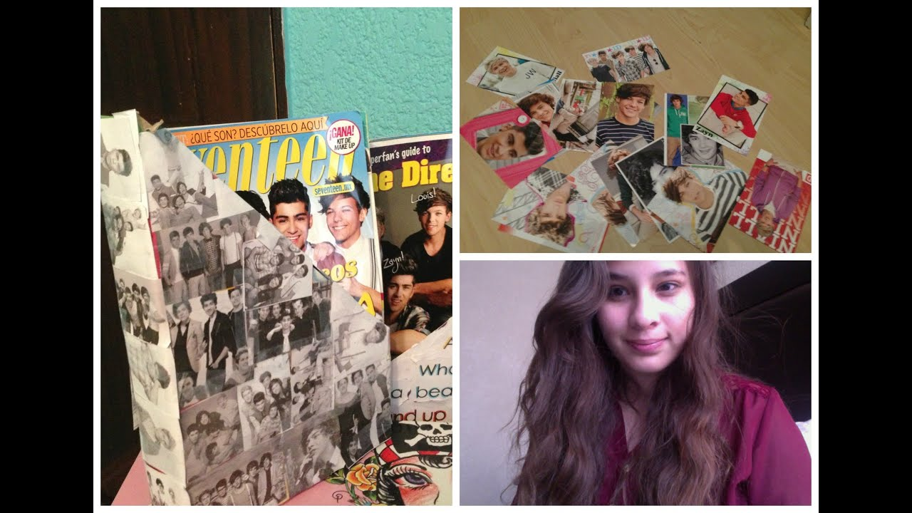 Diy decoraciones para tu cuarto de one direction youtube - Decoraciones de cuartos ...