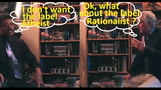 R. Dawkins and N.Tyson discussing their differences on Atheism