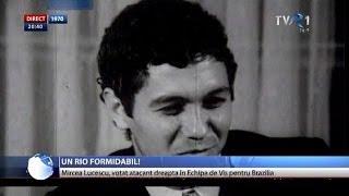 Mircea Lucescu, atacant dreapta în Naționala de Vis