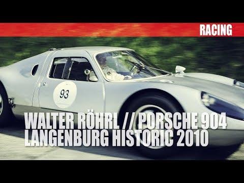 Walter Röhrl im Porsche 904 Carrera GTS - Langenburg Historic 2010 / Bergrennen