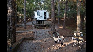 RV'ing - Red T๐p Mountain State Park, Acworth, GA