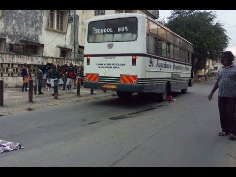 NTSA impounds bus that crushed a pupil to death in Mombasa