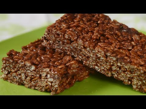 Chocolate Rice Krispies Treats® Recipe Demonstration - Joyofbaking.com