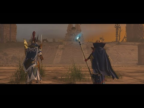 Battle of Fallen Gates | Total War: Warhammer II movie in cinematic Lizardman vs High Elves |