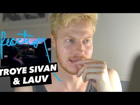 LAUV TROYE SIVAN I&39;m SO TIRED REACTION