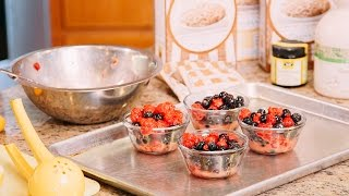 Easy Individual Fruit Crisps - Gluten Free Recipe
