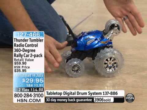 Radio Control 360-Degree Rally Car - The Thunder Tumbler