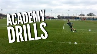 Drills to Improve AGILITY and FITNESS! - Professional Academy Drills