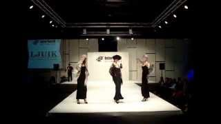 Открытие выставки и показ мод