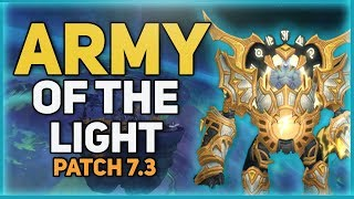 Army of the Light Reputation Guide Patch 7 3 | Lightforged Warframe Mount