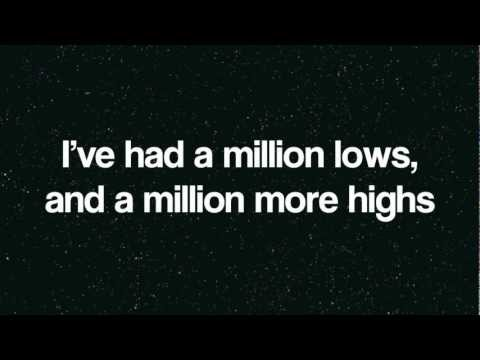 Jake Miller- A Million Lives | Lyrics