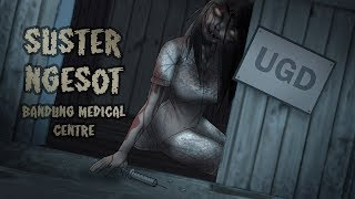 Nurse Ghost in Abandoned Bandung Hospital | Ghost Stories & Creepypasta - Rizky Riplay
