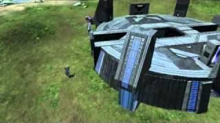 Halo Reach - Double Ghost Kill With ARMOR LOCK