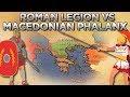 Roman Legion Against Macedonian Phalanx