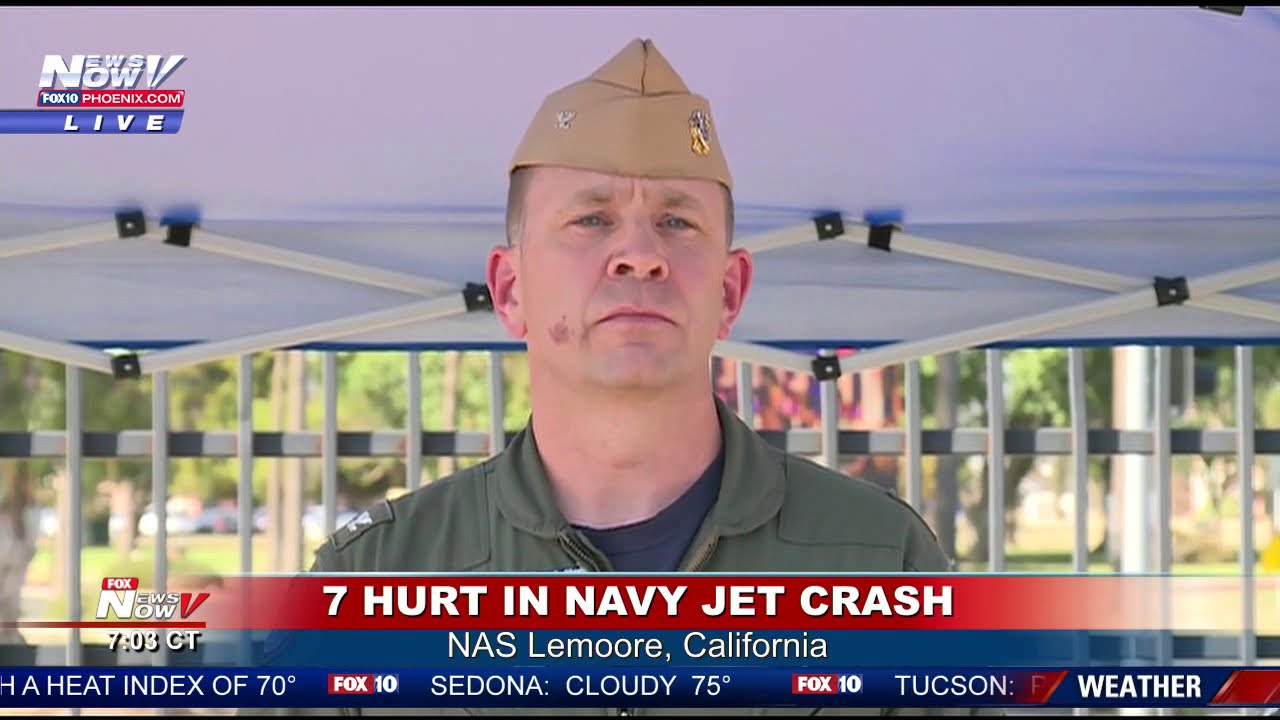 """BREAKING: 7 spectators reported injured after Navy jet crash at """"Star Wars Canyon"""""""