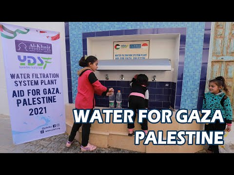 Water Filtration | AID FOR GAZA, PALESTINE