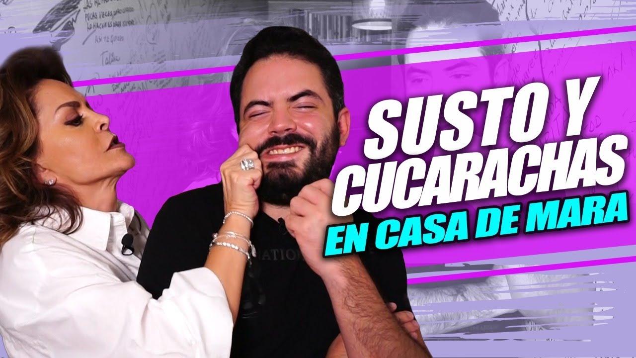 Mara Patricia Castañeda casi ME CORRE de su casa 🤣 | José Eduardo Derbez
