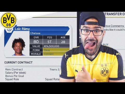 MASSIVE TRANSFER WINDOW! Dortmund FIFA 16 Career Mode #01