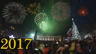 احتفالات رأس السنة 2017  في روسيا