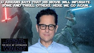 Does JJ Abrams not understand the difference between Marvel & Star Wars?