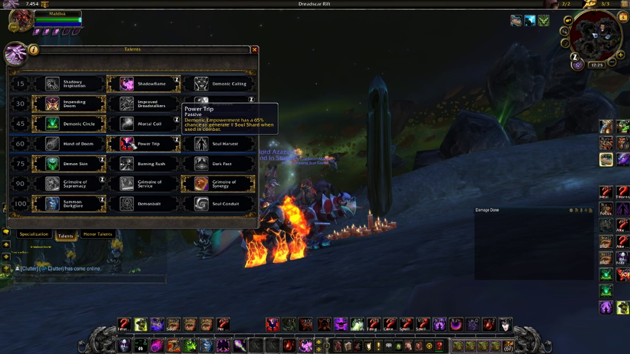 Demonology Warlock Dps Spec Builds And Talents Legion 7 Induced Info