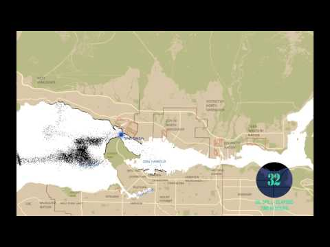 """Genwest Systems Inc. """"Oil Spill Trajectory Model At First Narrows."""""""
