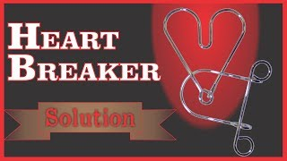 Solution for Heart Breaker from Puzzle Master Wire Puzzles(, 2010-04-20T20:45:25.000Z)