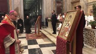 Pellegrinaggio di San Timoteo: l'arrivo a Roma