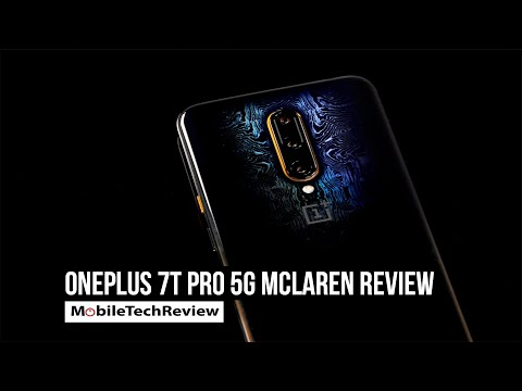 OnePlus 7T Pro 5G McLaren Review - and the State of 5G
