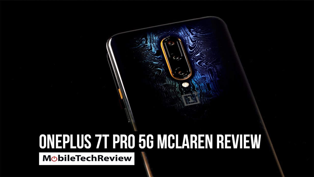 OnePlus 7T Pro 5G McLaren 5G - novelty