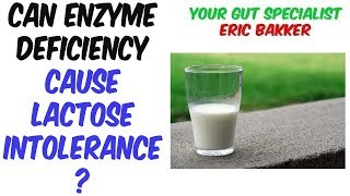 Can Enzyme Deficiency Cause Lactose Intolerance?