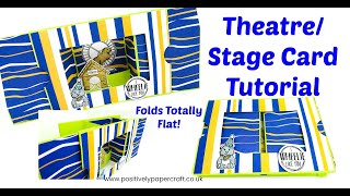 Theatre/stage Card Tutorial!