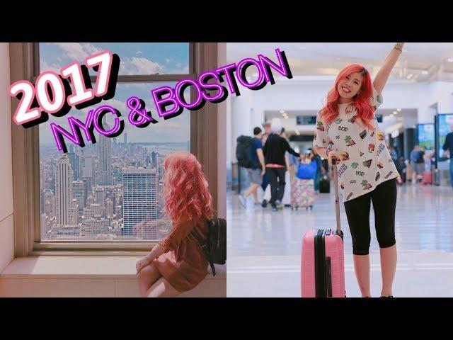 [VLOG] ĐI NGHỈ HÈ NEW YORK & BOSTON CÙNG CHANG 💃🏻🏩🗽