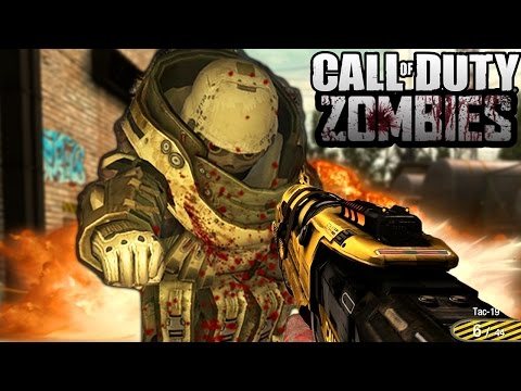 """""""CRAZY FUN MAP!"""" - Call of Duty Zombies """"INDUSTRIAL ESTATE"""" Custom Map! (COD Zombies)"""