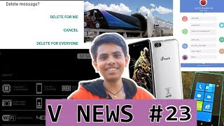 V News #23 - Slowest 4G India, 30 TB SSD, Hyperloop in india, Nokia 8 Pro, Asus Zenfone 5, M-Tech