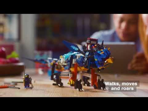 LEGO BOOST and LEGO Ninjago - Bring Your NINJAGO Dragon To Life With LEGO BOOST