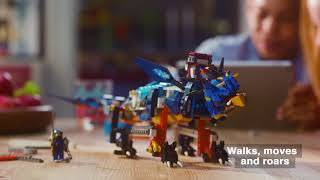 LEGO BOOST and LEGO Ninjago - Bring Your NINJAGO Dragon To Life With LEGO BOOST