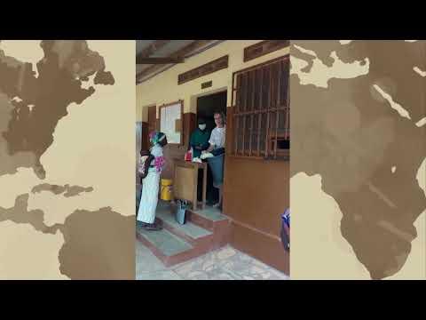 s. Kornelia Olechno, misjonarka ze szpitala Togo dziękuje za pomoc w walce z COVID-19