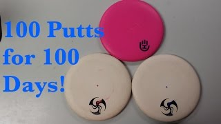 Disc Golf | 100 Putts for 100 Days-Day 1