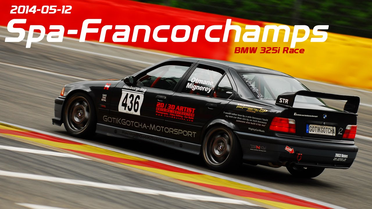 bmw e36 325i race spa francorchamps onboard. Black Bedroom Furniture Sets. Home Design Ideas