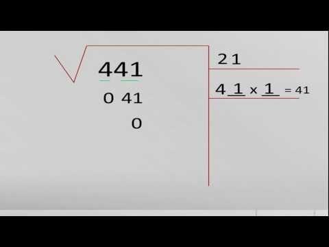 Aprender a resolver raíces cuadradas
