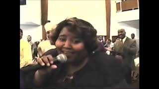 Gospel singer Lashun Pace Ministering Back In The Day At New Bethel Church Of God In Christ