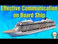 Effective Communication on Board Ship