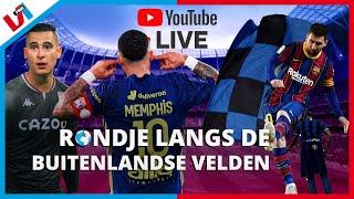 RONDJE LIVE: Baas Memphis Dubbele Cijfers, Inter Kampioen, El Ghazi TOP!